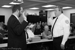Chief Appleton Swearing In